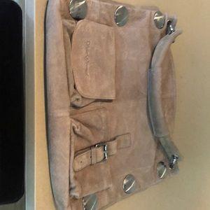 Schutzengel hobo bag with silver studs